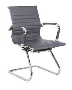 Grau Zeitlose Designer Stil Computer-Schreibtisch Modern Konferenz Sitzungssaal Empfang Charles Meeting Bürostuhl–Stuhl, Auslass