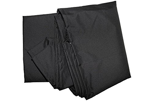 OUTFLEXX Premium Abdeckhaube für theBox 2er-Sofa: 2392-2, 2393-2, 2511-2, wasserbeständig, schwarz, 154x84x68 cm