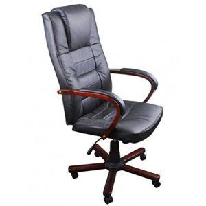 cangzhoushopping Luxuriöser Bürostuhl Schwarz Möbel Büromöbel Büro- Schreibtischstühle