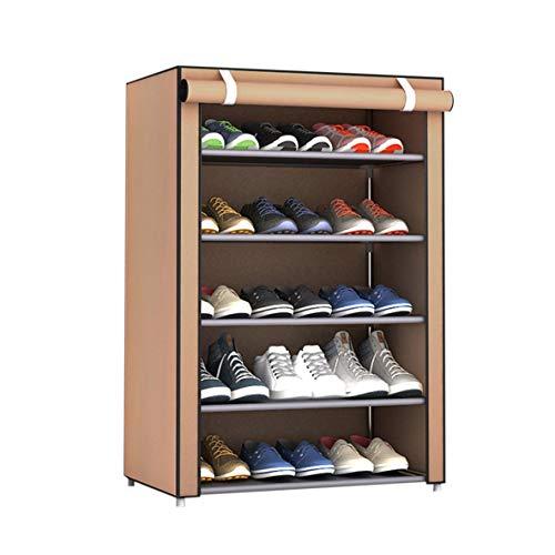 Noradtjcca Multi-Lattices Combination Schuhregal Organizer Schuhschrank Turm Staubdichte Schuhablage mit Vliesstoffbezug