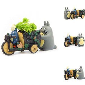 XMLIFE Creative Cartoon Shaped Mini Klein Kunstharz Sukkulenten Topf Blumen Übertopf Halter Schreibtisch Garten Raum Schmuck. Die Fun Deko für Zuhause, Garten, Terrasse, Büro Oder Auto und so auf
