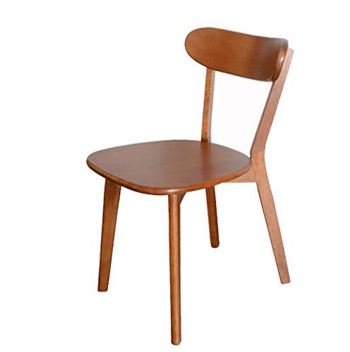 Hölzerner speisender Stuhl-moderner Kinderschreibtisch-Stuhl-einzelner Freizeit-Holzstuhl-Sofa-Stuhl-Bürostuhl (größe : A)