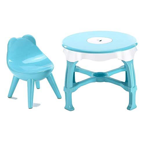 XUERUI Tische Esstische Tabelle Stühle Einstellen, Aktivität Lernen, Kind Picknick, Niedlich Schlafzimmer Möbel, Junge Baby Mädchen Schreibtisch Stuhl Campingtische