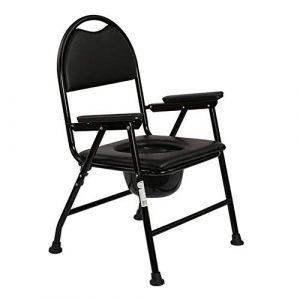 Klappstühle Stuhl Tragbar Camping Strand Kommode Toilleten Sitz KopfendeCommode Erwachsene Kinder CJC (Color : T1)