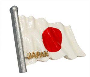 zamonji Japan Flagge Kühlschrank Kühlschrankmagnet 3D Harz Magnete Fahne Reise Aufkleber Tourist Geschenk Home & Küche Dekoration