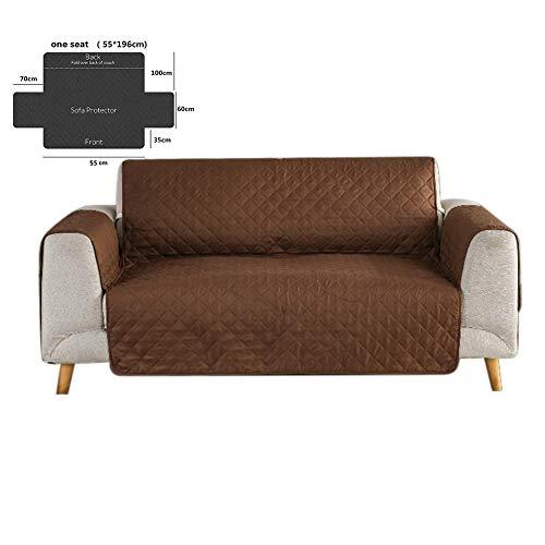 NAttnJf Moderne Einzel- / Doppel- / Dreisitzer-Schonbezug-Sofa-Möbel-Couch-Abdeckungs-Auflage Kaffee 3