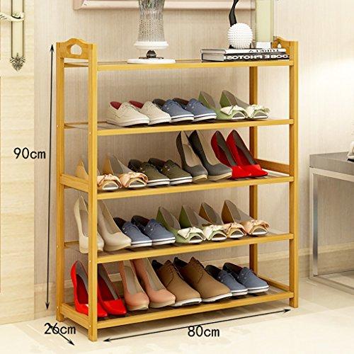 Nanzhu Schuhständer Einfache, mehrstöckige Regale staubdichte Haushaltregale Einfache moderne Montage Schuhschrank ( Farbe : C , größe : 70cm )