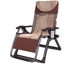 GAIXIA Verbreiterter Lounge Chair Faltung Mittagessen Break Bürostuhl Stuhl Stuhl Mittagspause Stuhl Strand Hause Freizeit Stuhl Lounge-Sessel (Color : 1)