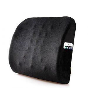 Uus Lendenkissen Unterstützungskissen Lesekissen Für Bett Rückenlehne Und Sofa Für Rückenschmerzen Und Ischias Kissen Auf Sofa Bürostuhl Auto (40 * 34 * 10 cm) (Farbe : A)
