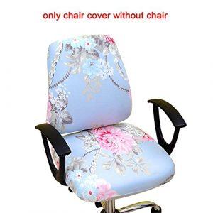 myonly Bürostuhl-Bezug/Drehstuhl, abnehmbar, dehnbar, elastisch (ohne Stuhl) a